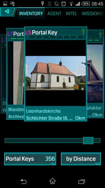 Ingress Gegenstand - Portal Keys