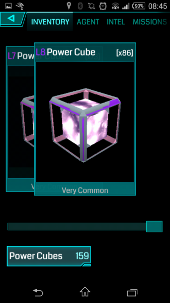 Ingress - Gegenstand - Power Cubes