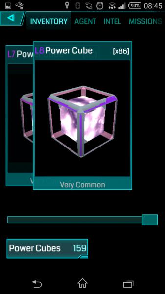 Ingress - Gegenstand - Power Cubes