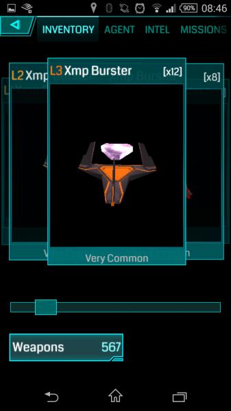 Ingress - Gegenstand - Waffen