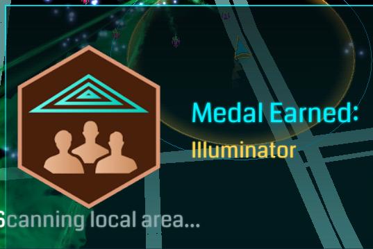 Illuminator-Medaille-Ingress